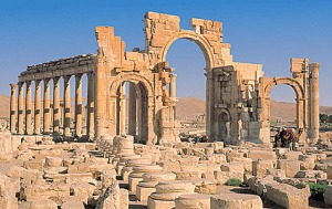 The ancient city of Palmyra, Syria